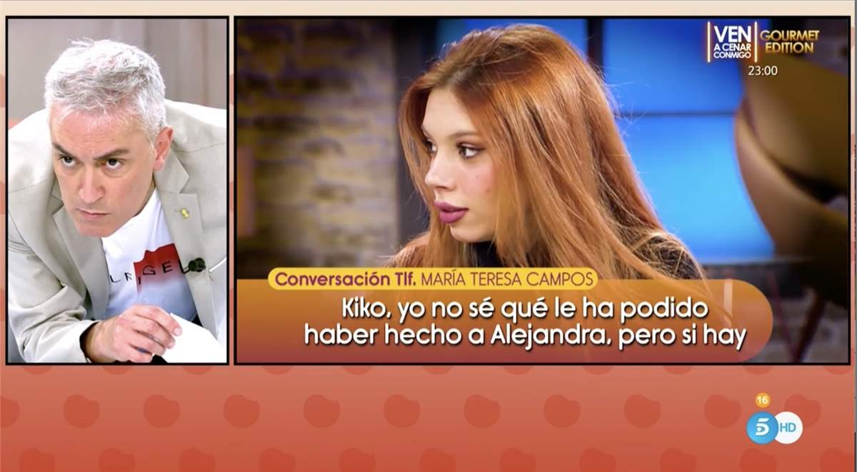 Kiko Hernández 'Sálvame'