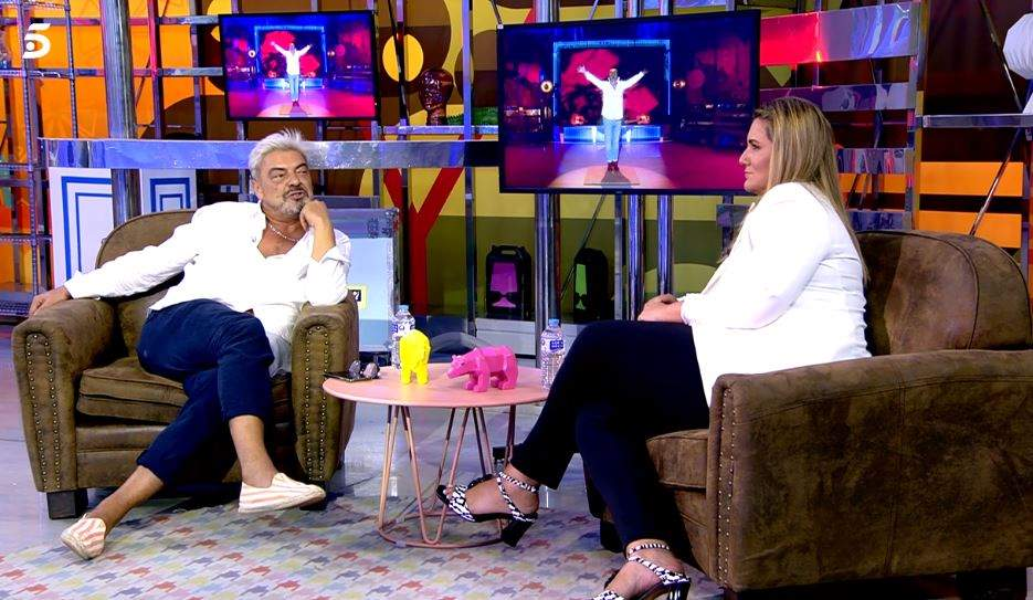 Antonio Canales y Carlota Corredera