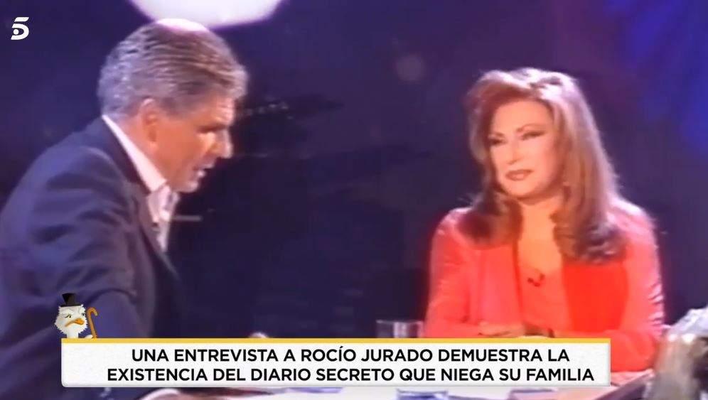Rocío Jurado y Pedro Ruiz