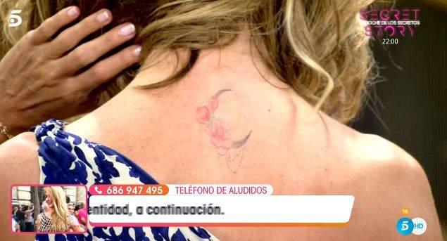 Emma García tatuaje