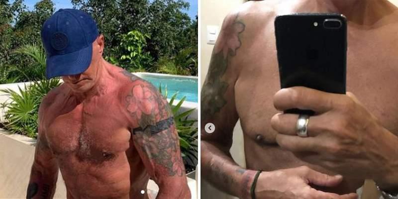 Kiko Matamoros antes y después