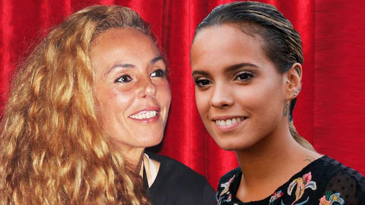 Rocío Carrasco y Gloria Camila