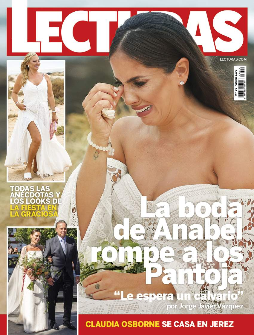 Portada boda de Anabel Pantoja