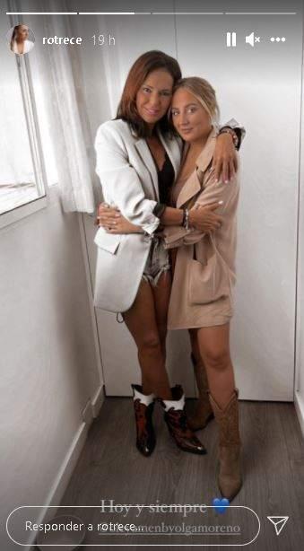 Olga Moreno y Rocío Flores